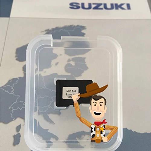 SUZUKI MMC SX4 FIAT Sedici Navi Micro SD Karte Bosch (v8.0 EU) EU+Turkey 2018-2019