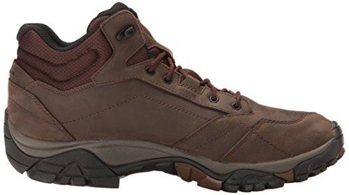 Merrell Moab Adventure Mid Waterproof, Chaussures de Randonnée Hautes Homme Marron (Dark Earth)