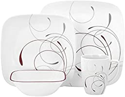 Corelle Vitrelle Glass Splendor Dinnerware Set - 16 Pieces