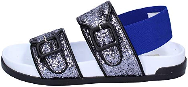 Gentiluomo Signora Jeannot Sandali Donna Glitter argentoo durevole Lascia che i nostri prodotti vadano al mondo Feedback di riconoscimento | Imballaggio elegante e stabile  | Maschio/Ragazze Scarpa