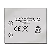 Amsahr Digital Replacement Battery for Kodak KLIC-7005, A10, A20, T10, T20, W10, W20 Camera