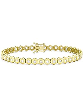 Carissima Gold Damen-Armband Gelbgold gelb gold 9k 19 cm / 7,5 Zoll 1.28.2432