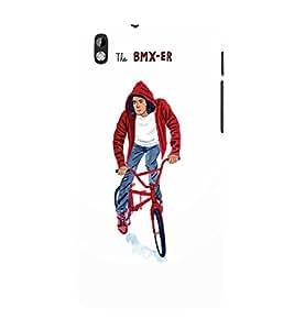 EPICCASE The BMX-ER Mobile Back Case Cover For HTC Desire 816 (Designer Case)