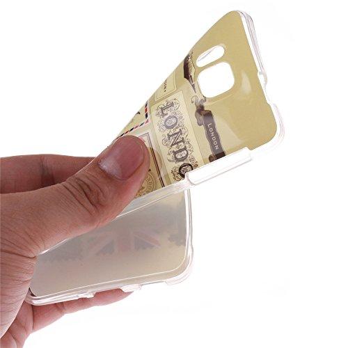 Samsung Galaxy Alpha G850 hülle MCHSHOP Ultra Slim Skin Gel TPU hülle weiche Silicone Silikon Schutzhülle Case für Samsung Galaxy Alpha G850 - 1 Kostenlose Stylus (Löwenzahn sich verlieben (Dandelions Briefpapier und Umschläge Stempel (Letter Paper and En