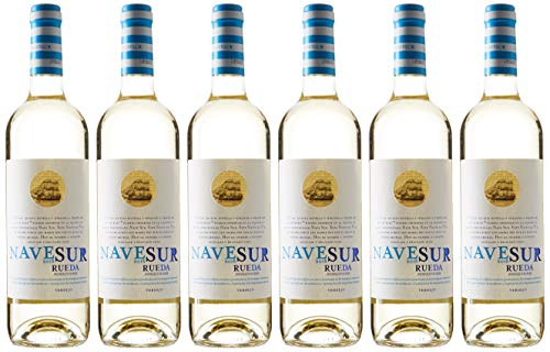 Nave Sur Verdejo - 6 Botellas de 750 ml - Total: 4500 ml