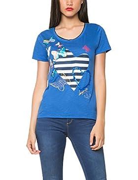 Desigual, LOVE - Camiseta para mujer