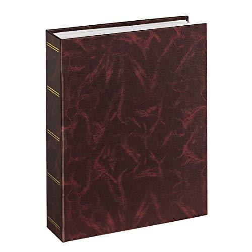 Hama Einsteckalbum Birmingham, geeignet für 100 Fotos im Format 13 x 18, burgund (10 X 13 Fotoalbum)