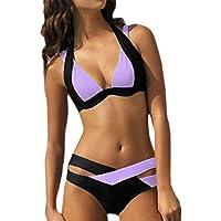 KIMODO 2019 Damen Bikinis Strand Bikini-Sets Frauen Bademode Push up BH  Bandeau Bikinioberteil Badeanzug 6149b3013b