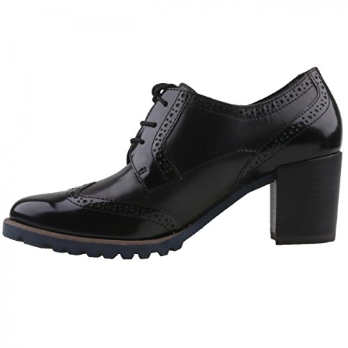 Tamaris 23302, Scarpe Stringate Oxford Donna Nero (Black)