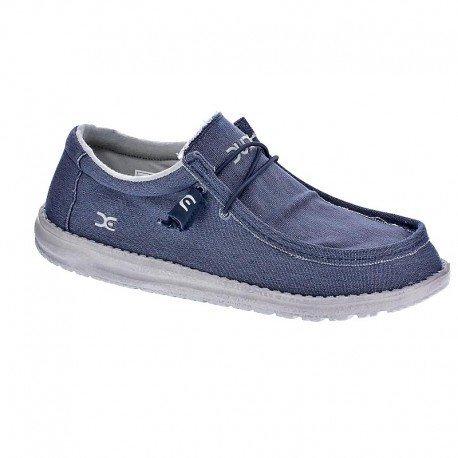 Scarpe da barca per gli uomini, color Blu , marca HEY DUDE, modelo Scarpe Da Barca Per Gli Uomini HEY DUDE SASHA Blu