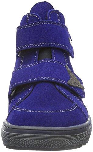 Richter Kinderschuhe Jungen Bravo Kurzschaft Stiefel Blau (cobalt/pebble 6901)