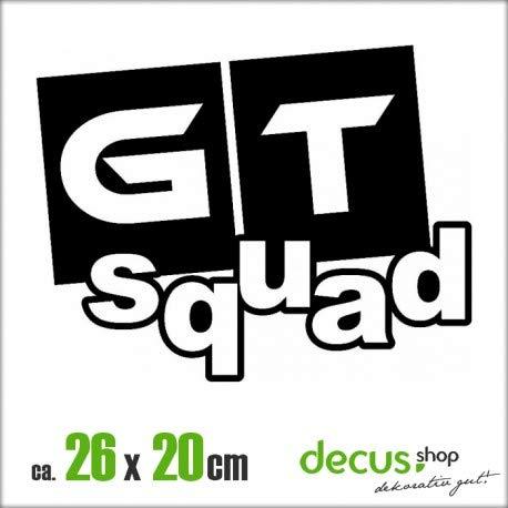Decus GT Squad XL 1912 // Sticker OEM JDM Style Aufkleber (Mint) -