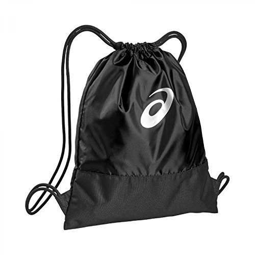 Asics Rucksack (Asics TR Core Gym Sack 133224-0904 Umhängetasche, 42 cm, 10 Liter, Black)