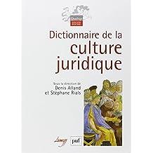 Dictionnaire de la culture juridique