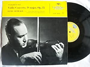 DGM 18196 DAVID OISTRAKH Tchaikovsky Violin Concerto vinyl LP