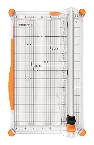Fiskars surecut plus personal trimmer 4560 A4 30 centimetre 12