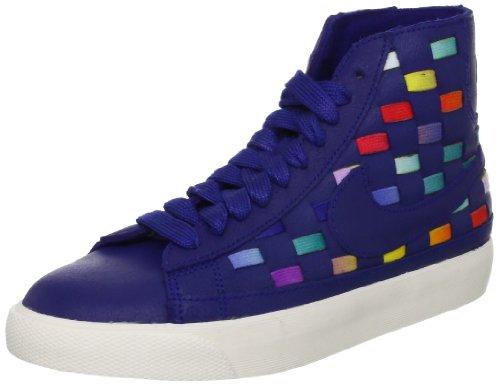 Nike Scarpe Unisex Wmns Blazer Mid Woven 555279 (36 - Blue 400)