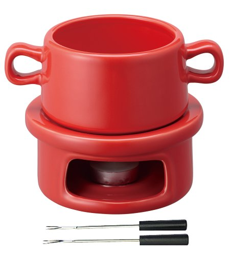 KINTO cheese fondue set S RED 36351