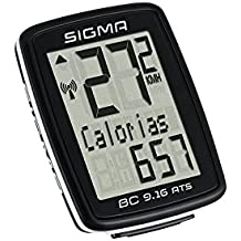 Sigma BC9.16 ATS Topline Ciclocomputador, Negro, Única