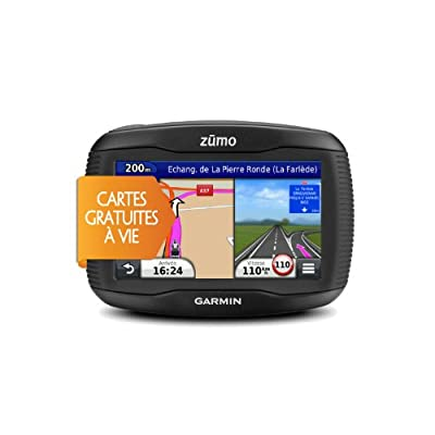 GARMIN Zumo 340LM - GPS Moto Ecran 4 pouces (cartes 24 pays d'Europe)