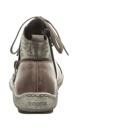 RemonteR1472-42 - Stivali da Motociclista Donna grau/altsilber/cigar/schwarz / 42
