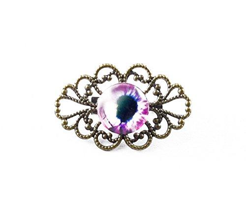 Feine Auge (Brosche Fein Steampunk Auge)