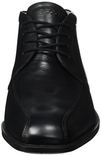 ECCO Edinburgh, Scarpe Stringate Basse Derby Uomo Nero(Black 11001)