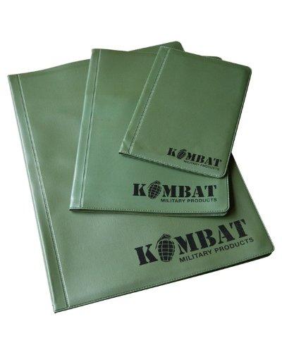 Kombat Army, A4, A5, A6, Nirex Dyrex Note Bestellungen, 2 Durchschläge, kohlefreies Durchschreibepapier, Kartenhalter, Surplus neuen Ordner
