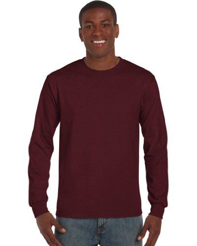 GILDANHerren T-Shirt Violett - Maroon