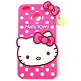 Qzey Cute Hello Kitty Back Cover For Xiamoi Redmi Y1 - Pink