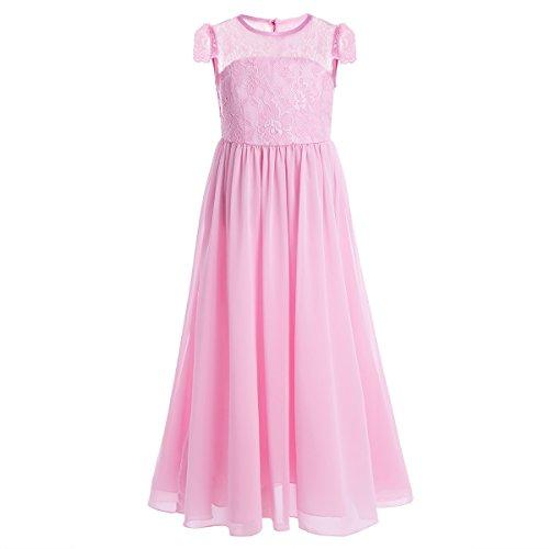 Freebily Mädchen Kleid Prinzessin Blumenmädchen Hochzeit Kleid Kinder Mädchen Party Kleid...