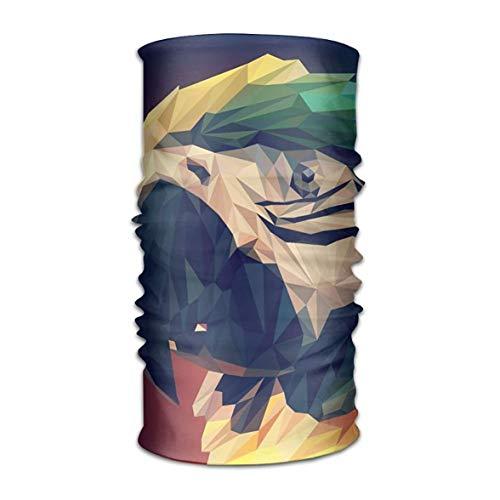w-Poly Parrot Headwear Bandanas Seamless Headscarf Outdoor Sport Headdress Running Riding Skiing Hiking Headbands ()