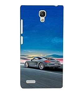 EPICCASE Porsche car Mobile Back Case Cover For Xiaomi Redmi Note (Designer Case)
