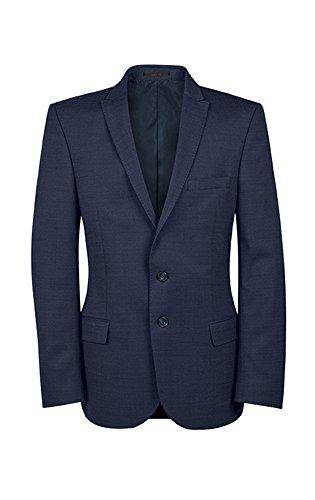 GREIFF -  Pantaloni da abito  - Maniche lunghe - Uomo pinpoint marine