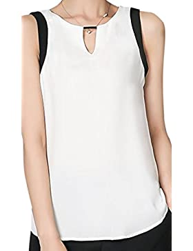erdbeerloft - Camisas - Básico - Sin mangas - 100 DEN - para mujer