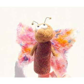 Fingerpuppe Schmetterling
