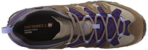 Merrell Annex Vent, Chaussures de randonnée basses homme Vert (Stucco/Purple)