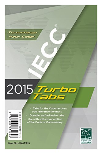 2015 International Energy Conservation Code Turbo Tabs