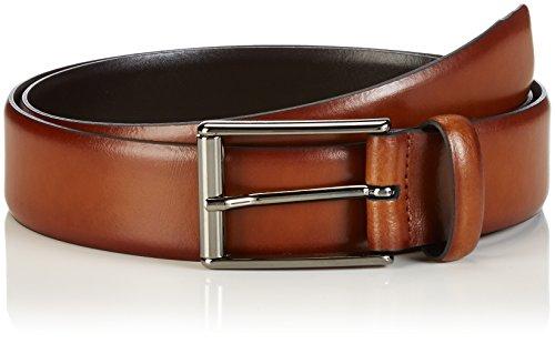 Strellson Premium Herren Gürtel Belt, Braun (Cognac 55) 95 cm