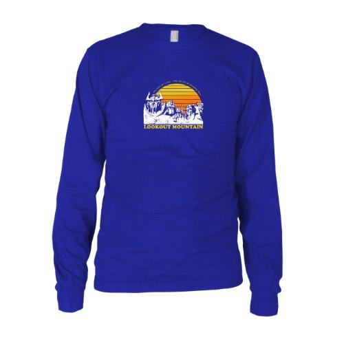 Kostüm Männer Bumblebee - Lookout Mountain - Herren Langarm T-Shirt, Größe: XXL, Farbe: blau