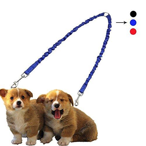 petbaby Nylon Leine leicht kämmbar sind zwei Dog Walking Leine SPLITTER geeignet für mittlere und kleine Hunde Doppelleine reicht von 19.6zu 79,8cm