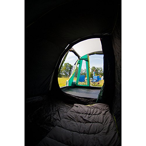 Coleman Rocky Mountain 5 Plus 5 Person Tunnel Tent with BlackOut Bedrooms  sc 1 st  UK Sports Outdoors C&ing Hiking Jogging Gym fitness wear Yoga & Coleman Rocky Mountain 5 Plus 5 Person Tunnel Tent with BlackOut ...