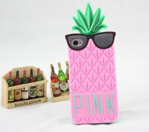 pink-victoria-s-pineapple-3d-silicone-case-secret-for-iphone-pink-silicon-cover-case-for-iphone-5-5g