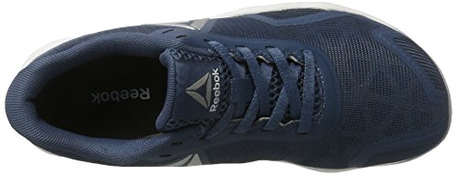 Reebok Ros Workout Tr 2.0, Sneaker a Collo Basso Unisex Adulto Blu (Brave Blue/gable Grey/stellar Pink/pure Silver)