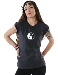 3 Elfen - T-Shirt Top - À Épaulettes - Yin Yang fée