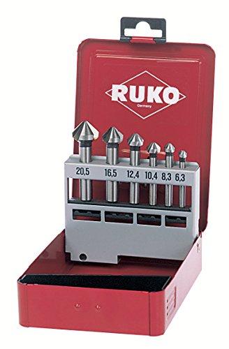 Ruko Kegelsenker-Set 90 Grad, DIN 335C, HSS-CO5, 102152E