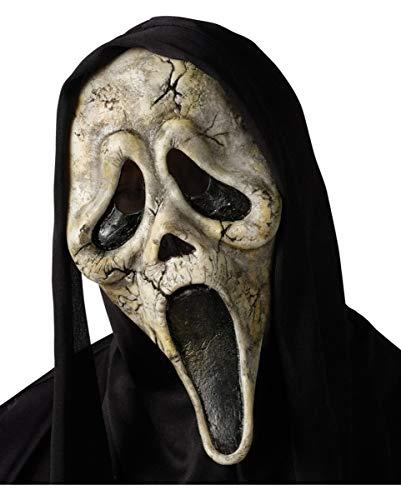 Scream Zombie Maske mit schwarzer ()