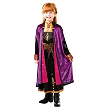Rubie's Official Disney Frozen 2, Anna Deluxe Dress, Childs Costume, Size Medium Age 5-6 Years