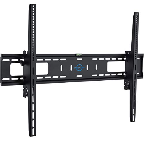 """deleyCON Universal TV Wandhalterung 60""""-100"""" Zoll (152-254cm) Neigbar - 75Kg - bis VESA 900x600 - Plasma LCD LED OLED TFT Curved Fernseher Halterung"""