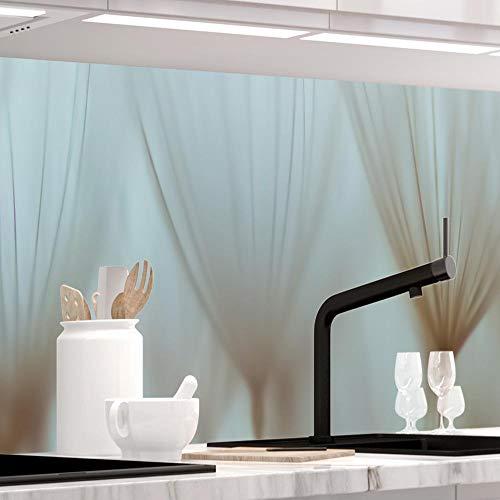 StickerProfis Küchenrückwand selbstklebend - Pusteblume - 1.5mm, Versteift, alle Untergründe, Hart PET Material, Premium 60 x 220cm